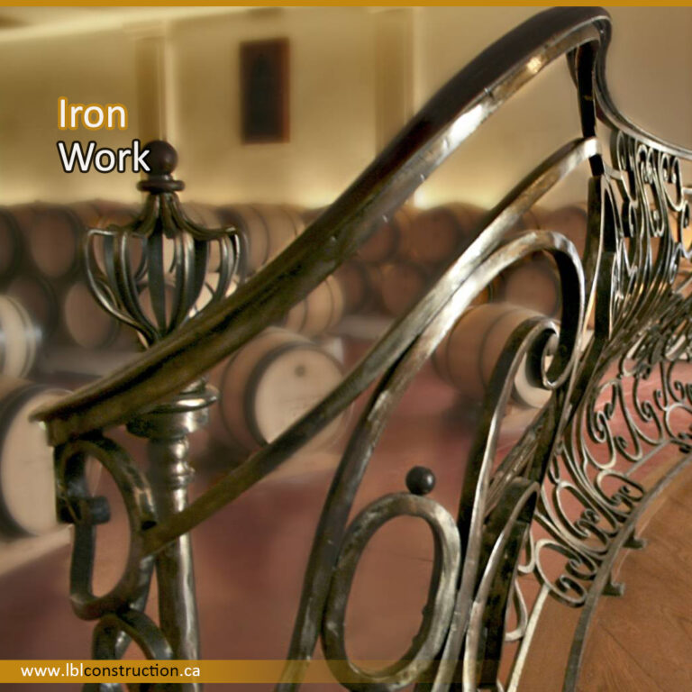 Iron Rail Decor
