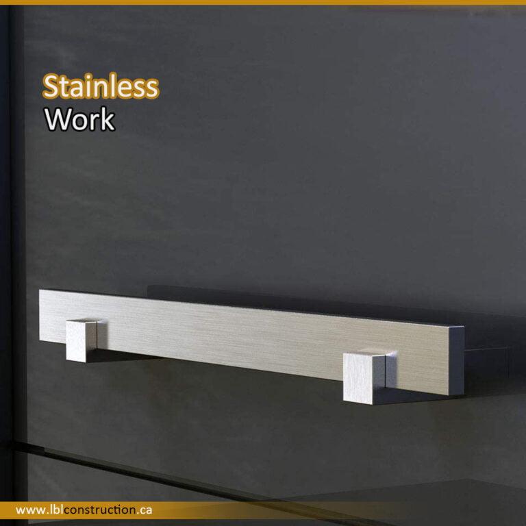 Stainless Handrail for Door