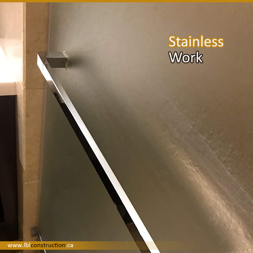 Stainless Handrail for Main Door