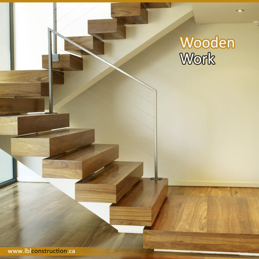 Stair made of Wood
