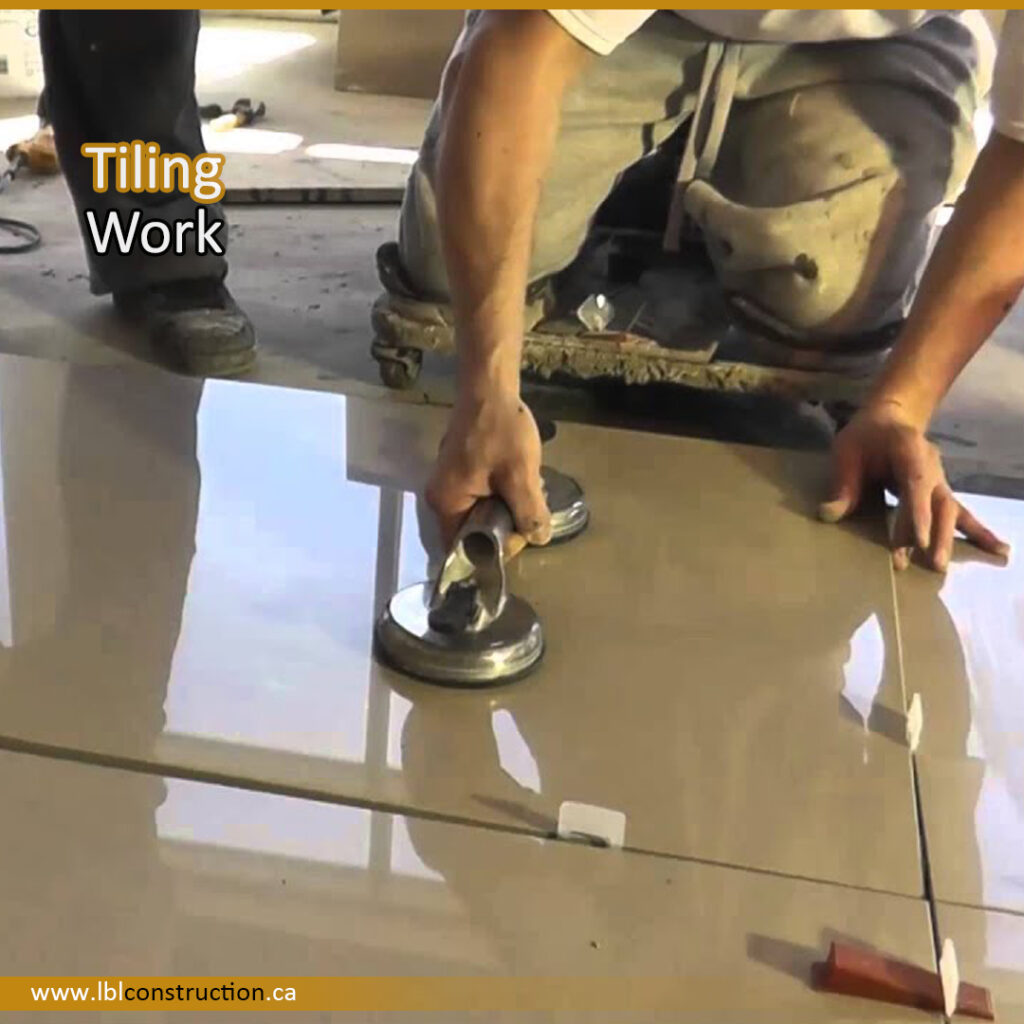 Tiling Services for Floor