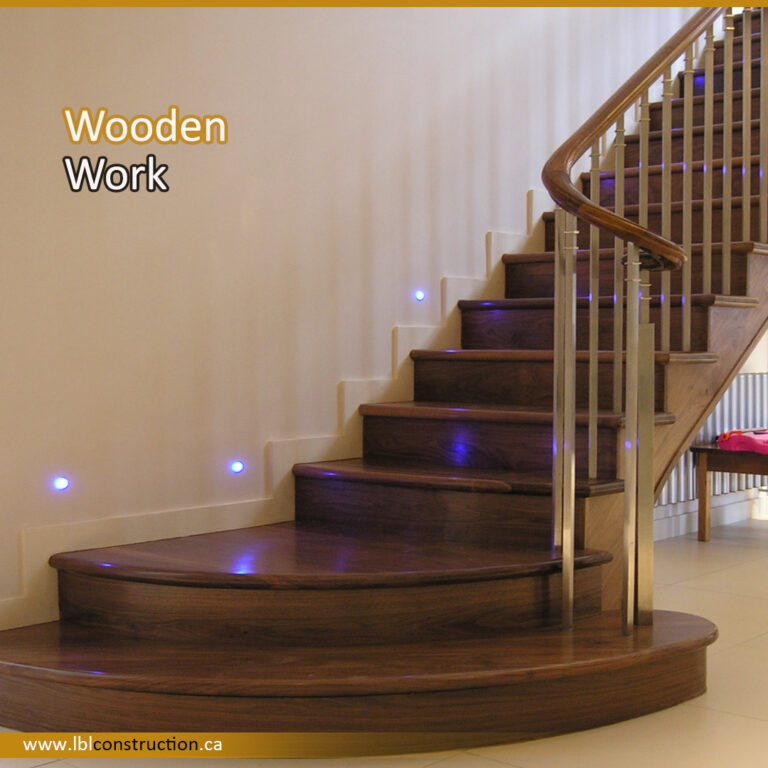 Wooden Stair Project