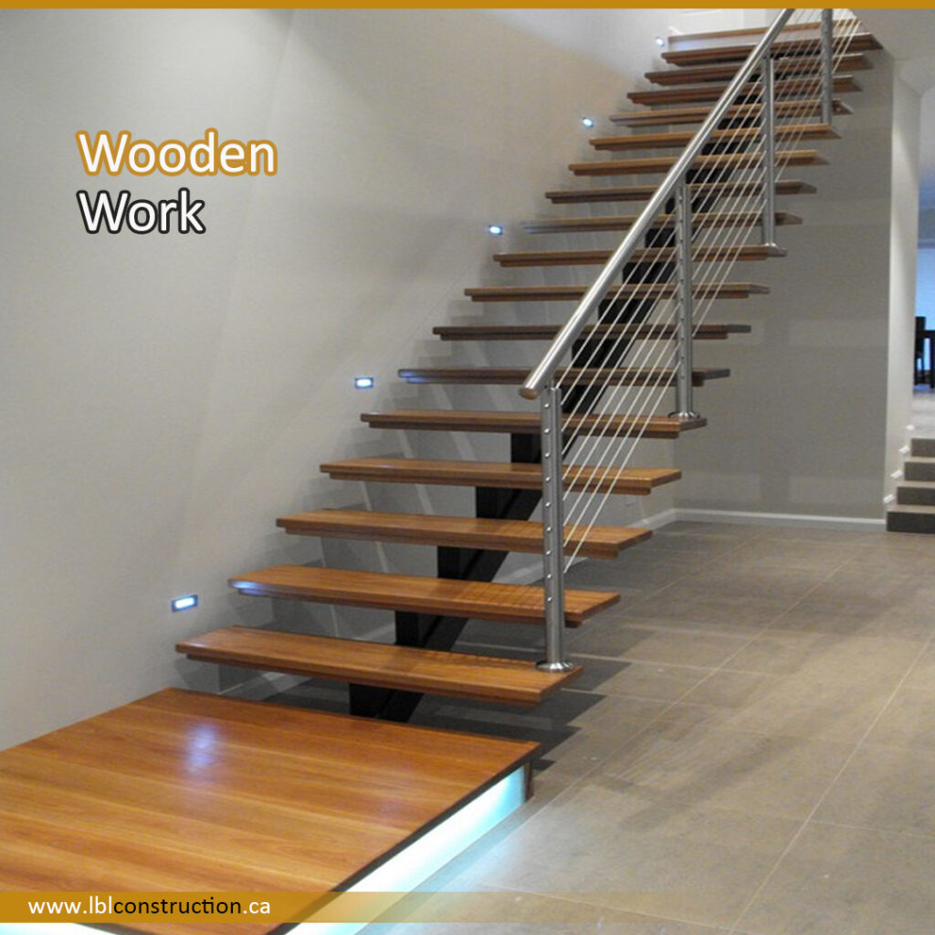 Wooden Stair Structure