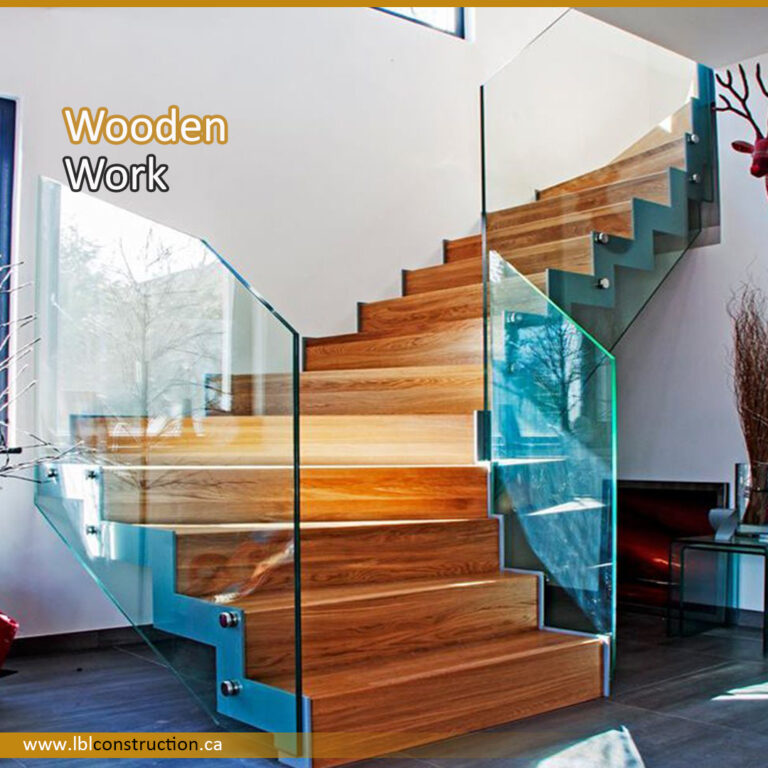 Wooden Stair Work