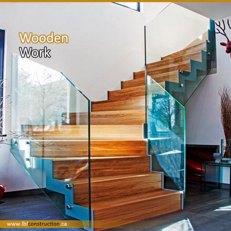Wooden Stair Work