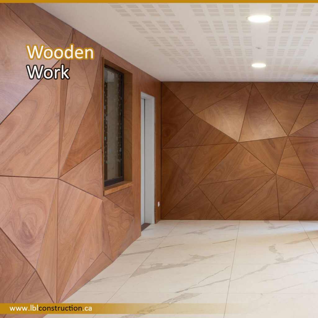 Wooden Wall Structure