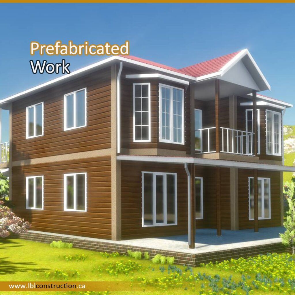 Prefabricated House Work-min