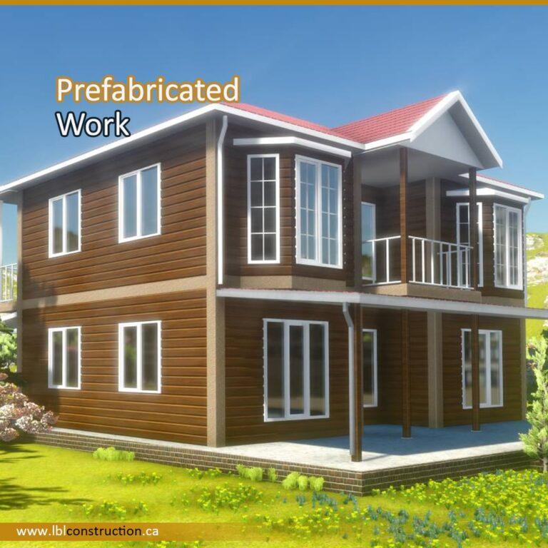 Prefabricated House Work-min