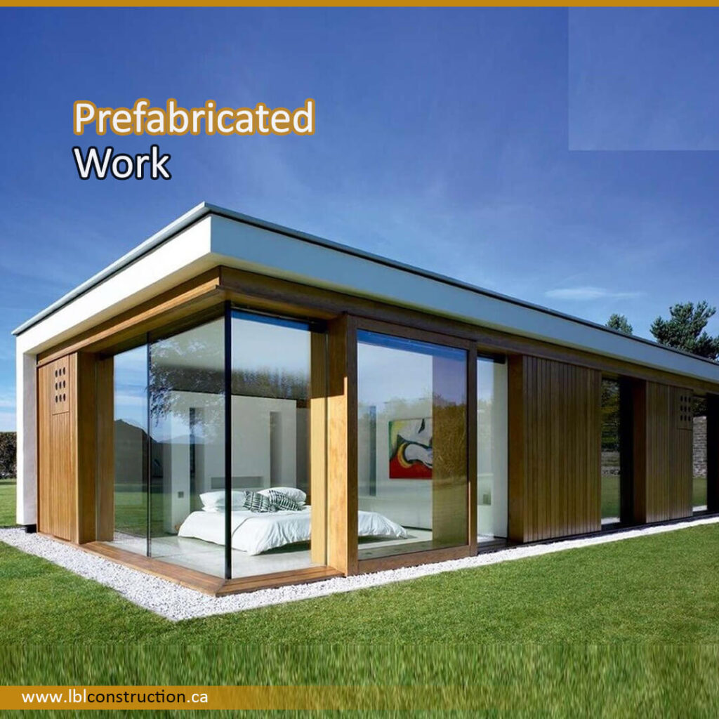 Prefabricated Villa Work